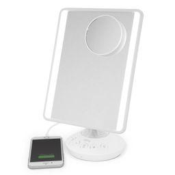 ($80 Value) iHome Mirror with Bluetooth Audio, LED Lighting, Bonus 10x Magnification, Siri & Goog... | Walmart (US)