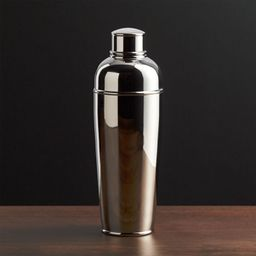 Easton Stainless Steel Cocktail Shaker + Reviews | Crate and Barrel | Crate & Barrel
