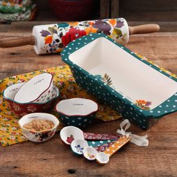 The Pioneer Woman Harvest Bakeware Set, 10-Piece | Walmart (US)