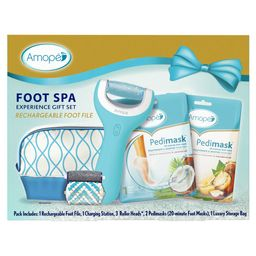Amope Pedi Perfect Foot Spa Experience Kit - Perfect In Home Pedicure Gift - 1 Rechargeable Foot ... | Walmart (US)