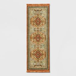 Floral Woven Accent Rug - Threshold™   Target