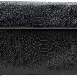 bys2mr Women's Clutch Purse Bags - Flat Envelope Faux Croc Leather Crossbody Evening Party Weddin... | Amazon (US)