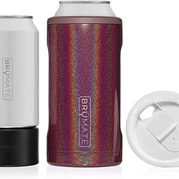 BrüMate HOPSULATOR TRíO 3-in-1 Stainless Steel Insulated Can Cooler, Works With 12 Oz, 16 Oz Ca... | Amazon (US)