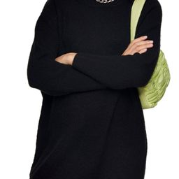 Oversize Long Sleeve Mini Sweater Dress | Nordstrom