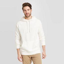 Men's Standard Fit French Terry Hoodie Sweatshirt - Goodfellow & Co™ | Target