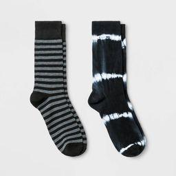 Men's Novelty Crew Socks 2pk - Goodfellow & Co™ 7-12 | Target