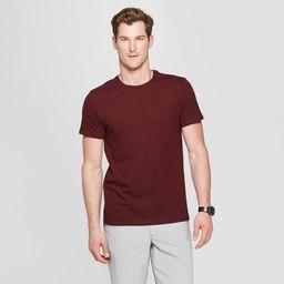 Men's Standard Fit Short Sleeve Lyndale Crew Neck T-Shirt - Goodfellow & Co™ | Target