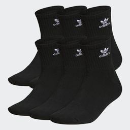 Mens OG Trefoil 6Pack Quarter   adidas (US)
