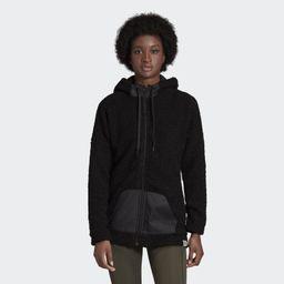 Brilliant Basics Sherpa Full-Zip Hoodie | adidas (US)