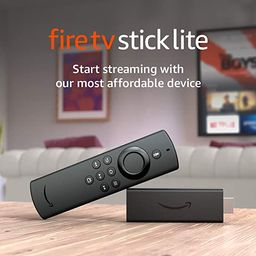 Introducing Fire TV Stick Lite with Alexa Voice Remote Lite (no TV controls)   HD streaming devic...   Amazon (US)