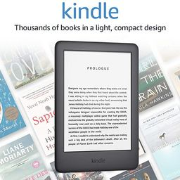 Kindle - Now with a Built-in Front Light - Black - Ad-Supported   Amazon (US)
