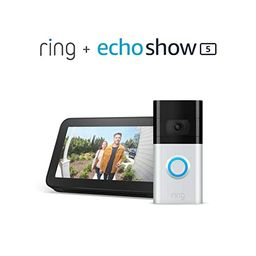 Ring Video Doorbell 3 with Echo Show 5   Amazon (US)