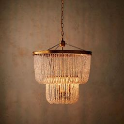 Tess Crystal Chandelier | Frontgate | Frontgate