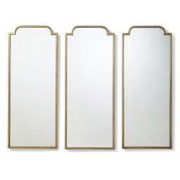 Darcy Mirror Triptych | Frontgate | Frontgate