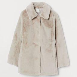 Faux fur coat | H&M (UK, IE, MY, IN, SG, PH, TW, HK, KR)