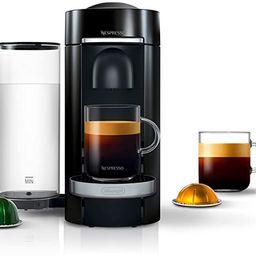 Nespresso VertuoPlus Deluxe Coffee and Espresso Machine by De'Longhi, Black | Amazon (US)