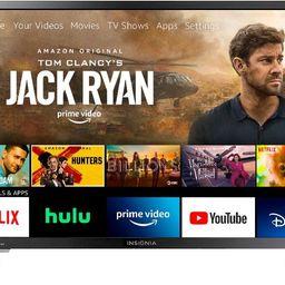 "Insignia™ - 32"" Class LED HD Smart Fire TV Edition TV   Best Buy U.S."