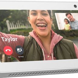 "Package - Amazon - Echo Show 5"" Smart Display with Alexa - Sandstone (2 pack)   Best Buy U.S."