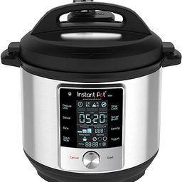 Instant Pot Max Pressure Cooker 9 in 1, Best for Canning with 15PSI and Sterilizer, 6 Qt | Amazon (US)
