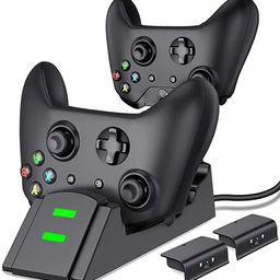 Controller Charger for Xbox one, Controller Charging Station Compatible with Xbox One/One X/One S... | Amazon (US)