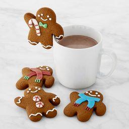 Williams Sonoma Gingerbread Folks Mug Toppers, Set of 4   Williams-Sonoma