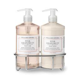 Williams Sonoma Pink Grapefruit Soap & Lotion, Classic 3-Piece Set   Williams-Sonoma