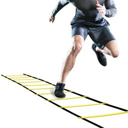 GHB Pro Agility Ladder Agility Training Ladder Speed 12 Rung 20ft with Carrying Bag | Amazon (US)