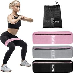 Booty 3 Resistance Bands for Legs and Butt Set, Exercise Bands Fitness Bands - Video Workout, Res... | Amazon (US)
