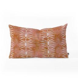 Schatzi Stripe Rust Lumbar Throw Pillow Orange - Deny Designs   Target