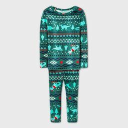Toddler Boys' 2pc Snuggly Soft Pajama Set - Cat & Jack™ Green | Target