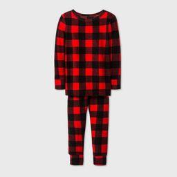 Toddler Boys' 2pc Snuggly Soft Pajama Set - Cat & Jack™ Red | Target