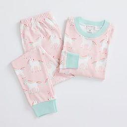 Rainbow Unicorn Pajama Set | Pottery Barn Kids