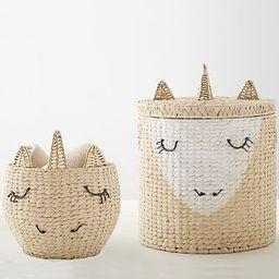 Unicorn Storage Collection | Pottery Barn Kids