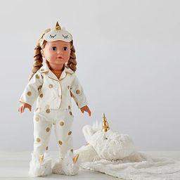Special Edition Allie Unicorn Sleepover Götz Doll | Pottery Barn Kids