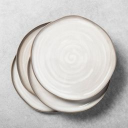 Stoneware Reactive Glaze Dinner Plate - Hearth & Hand™ with Magnolia | Target