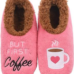Snoozies Slippers for Women - Pairables Womens Slippers - But First Coffee   Amazon (US)