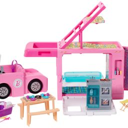 Barbie Estate 3-In-1 Dreamcamper Vehicle With Pool, Truck, Boat And 50 Accessories   Walmart (US)