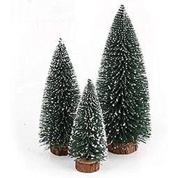 Desktop Miniature Pine Tree tabletop christmas tree small pine tree decor christmas tree toppers ...   Amazon (US)
