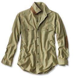 Fairbanks Brushed Herringbone Flannel Shirt   Orvis (US)