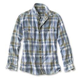 Indigo Long-Sleeved Shirt   Orvis (US)