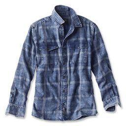 Washed Plaid Long-Sleeved Shirt   Orvis (US)