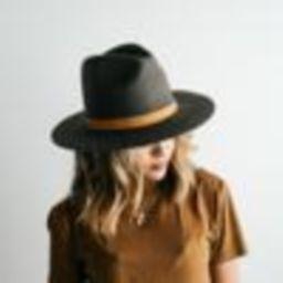 Billie Tall Fedora - Dark Grey | Gigi Pip