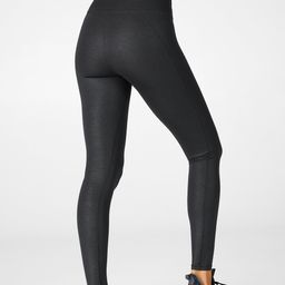 High-Waisted Iridescent Luxe Legging | Fabletics