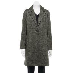 Women's Apt. 9® Long Topper Coat | Kohl's