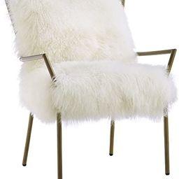 Tov Furniture Lena Sheepskin Chair | Amazon (US)