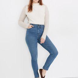 Curvy High-Rise Skinny Jeans in Astoria Wash: TENCEL™ Denim Edition | Madewell