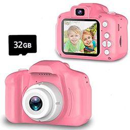 Seckton Upgrade Kids Selfie Camera, Christmas Birthday Gifts for Girls Age 3-9, HD Digital Video ... | Amazon (US)