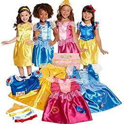 Disney Princess Dress Up Trunk Deluxe 21 Piece [Amazon Exclusive] | Amazon (US)