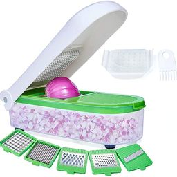 LHS Vegetable Chopper, Pro Onion Chopper Slicer Dicer Cutter - Cheese & Veggie Chopper - Food Cho... | Amazon (US)