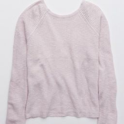 Aerie Ballet Back Sweater | American Eagle Outfitters (US & CA)